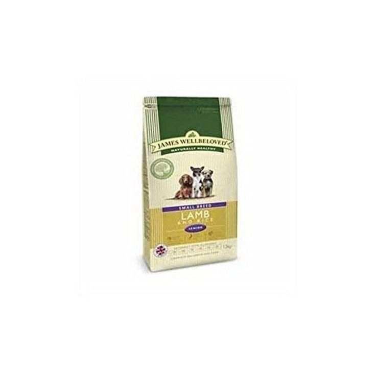 James Wellbeloved Dog Food Lamb and Rice Senior Small Breed (1.5kg) (Pack of 2) -- Awesome products selected by Anna Churchill