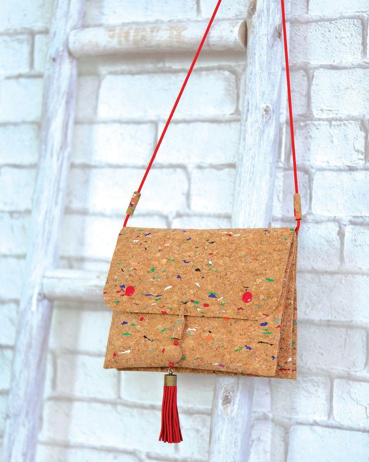 Mon sac en liège Pour Modes et Travaux!! - Le blog de karinethiboult.over-blog.com Madmoizelle Tika