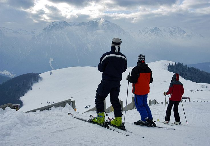 The Carpathian Mountains offer great skiing.