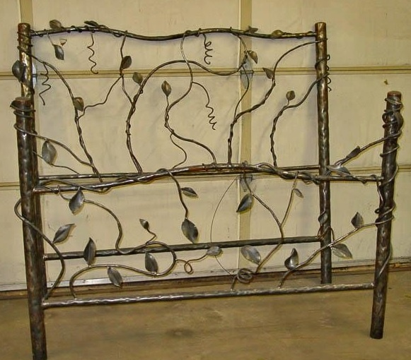 Metal Forged Vine Bed Item Br04048 Available In