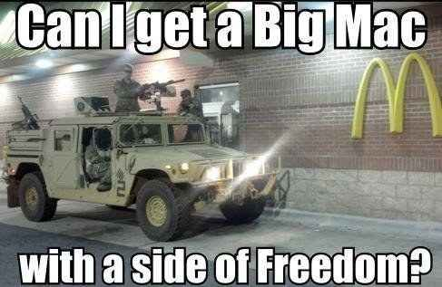 A place where these dudes can eat all the freedom fries they want.   21 'Murica Memes To Keep Your Patriotism Flowing