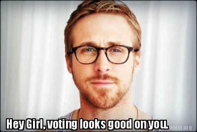#heygirl #votingiscool