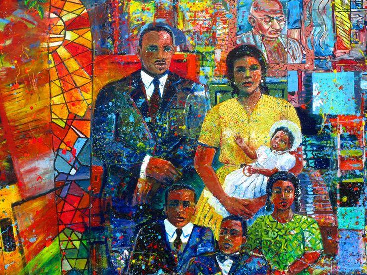 MLK mural | Martin Luther King Jr. Historic Site in Atlanta