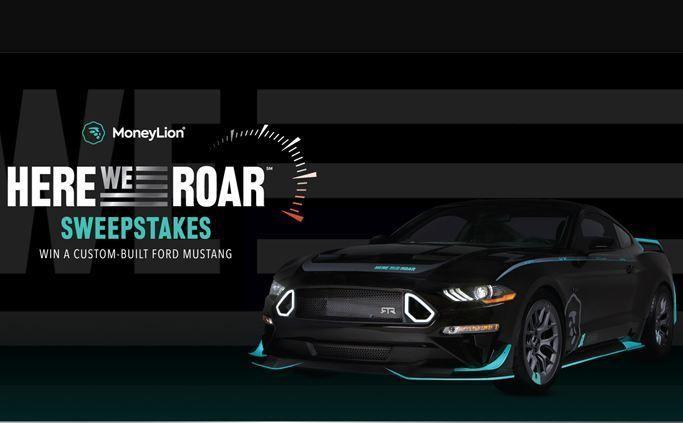 Moneylion Here We Roar Sweepstakes Win 2019 Ford Mustang