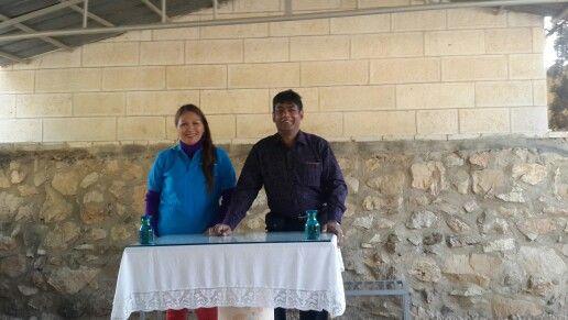 Sharing at Shepherds manger