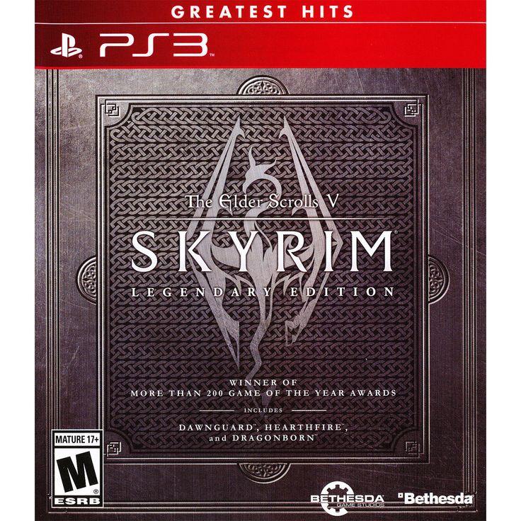 The Elder Scrolls V: Skyrim  Legendary Edition PS3 [Brand New]