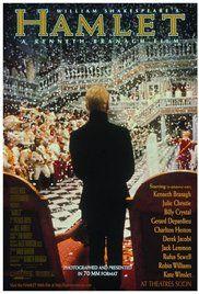 Hamlet Poster 1996 Robin Williams played Osric