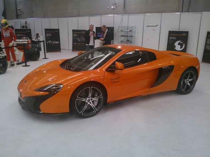 McLaren motorshow Erba 2014