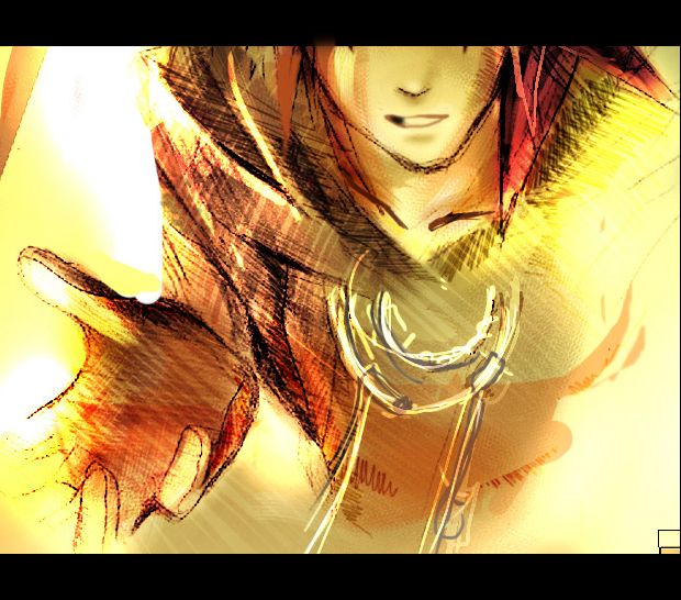 KH II - Trust me..? by yumix on DeviantArt Axel from Kingdom Hearts II