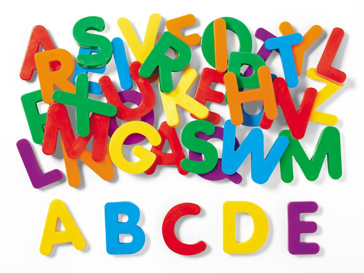 Giant Alphabet Magnetic Letters