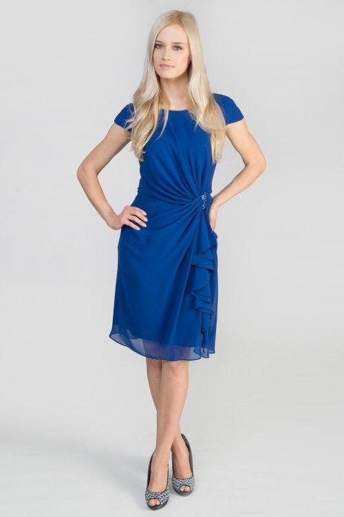 #tadashishoji #blue #delicate #summer #cocktail #dress