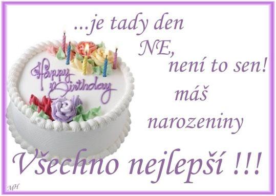 P��n� k narozenin�m