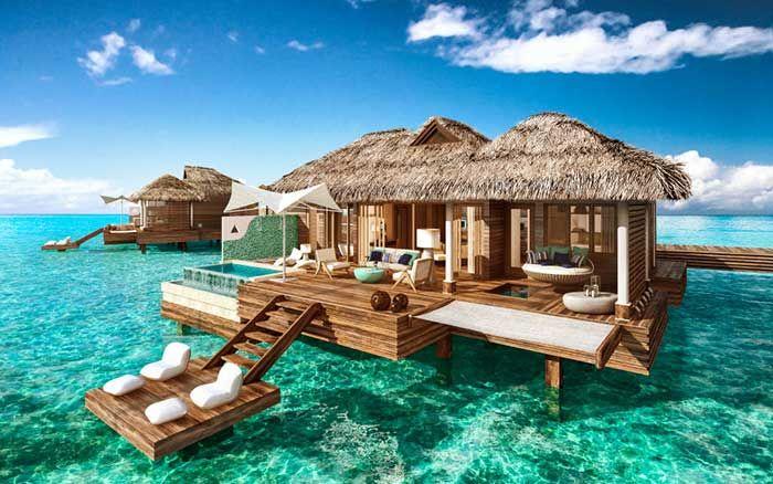 El primer hotel de lujo sobre el agua en el caribe abre sus puertas. | Mil Ideas de Decoración