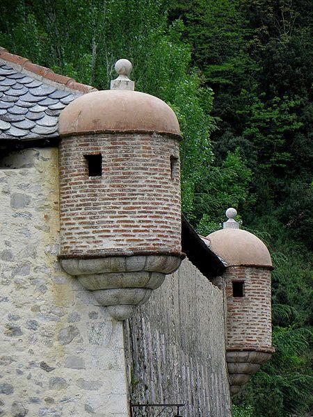 Remparts de Villefranche-de-Conflent . Languedoc-Roussillon