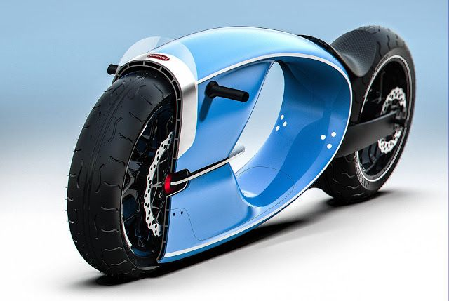 Bugatti Concept Bike Challenge Bugatti Bike Futuristic