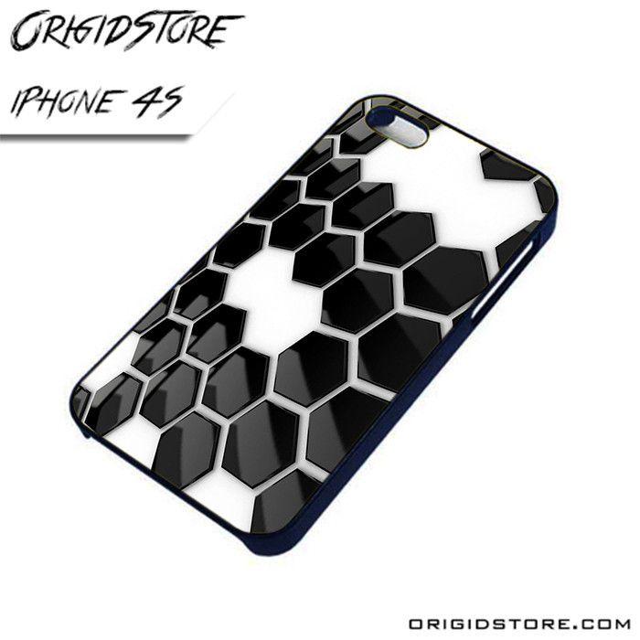 Black and White Prisma AL iPhone 4/4S case