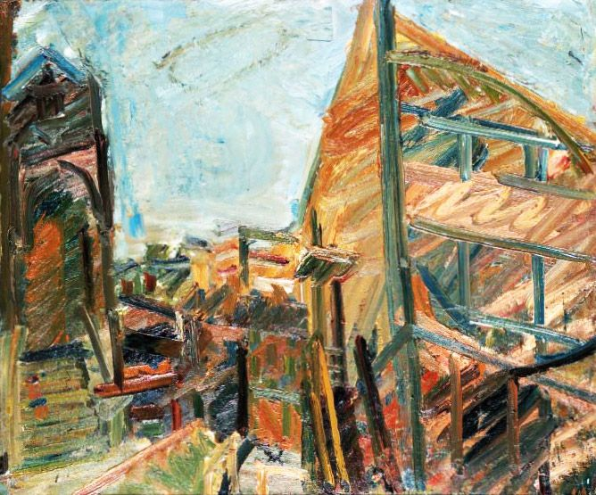 Frank Auerbach - To The Studio (1982-83)