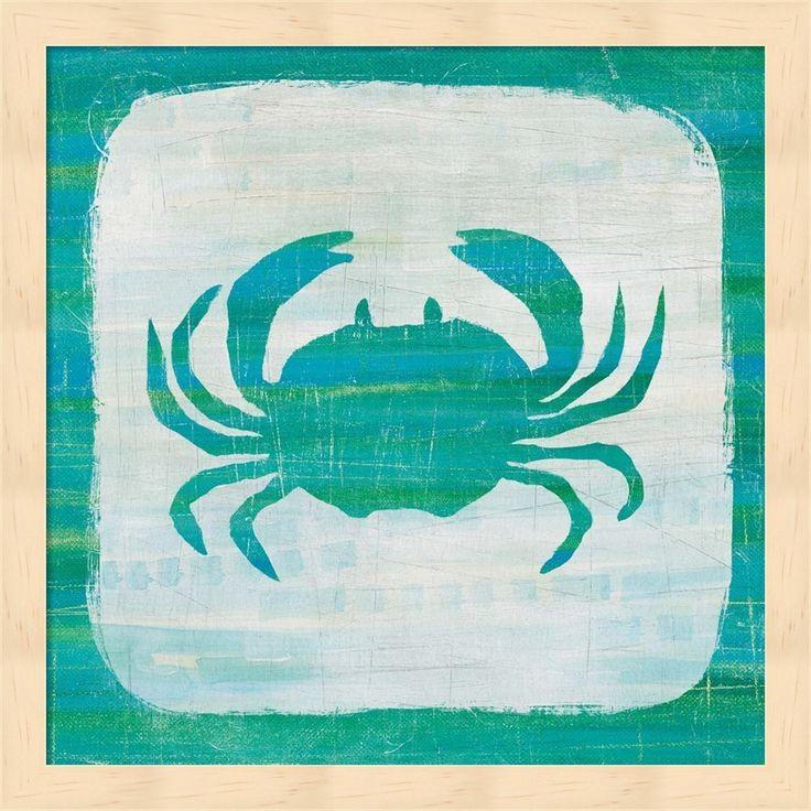 Melissa Averinos 'Ahoy V Blue Green' Framed Art
