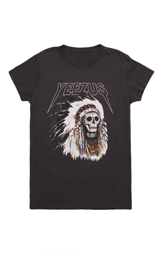 Yeezus Tour Merch Indian Headress T-Shirt #yeezus #pacsun @Rayna Lerner Patterson
