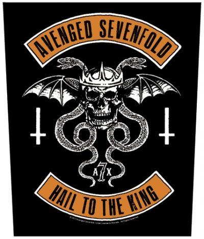 Dossard AVENGED SEVENFOLD - Biker Hail To The King - Dossards - Rock A Gogo - www.rockagogo.com