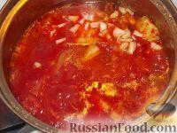Фото приготовления рецепта: Кабачки «Тещин язык» - шаг №8