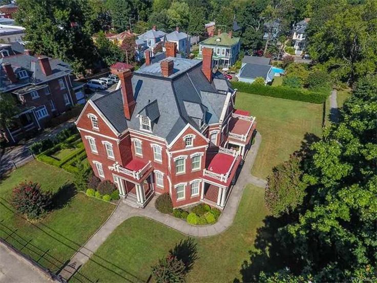 c.1889 Victorian Empire Italianate house located at: 241 S Sycamore St, Petersburg, VA 23803