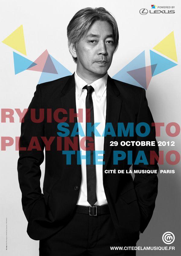 sakamoto concert poster 2012