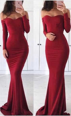 a69cf174c3d6 Off Shoulder Prom Dress