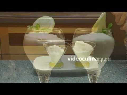 Лимонный мусс - Рецепт Бабушки Эммы - YouTube Zitronen Mousse auf Basis einer italienischen meringue