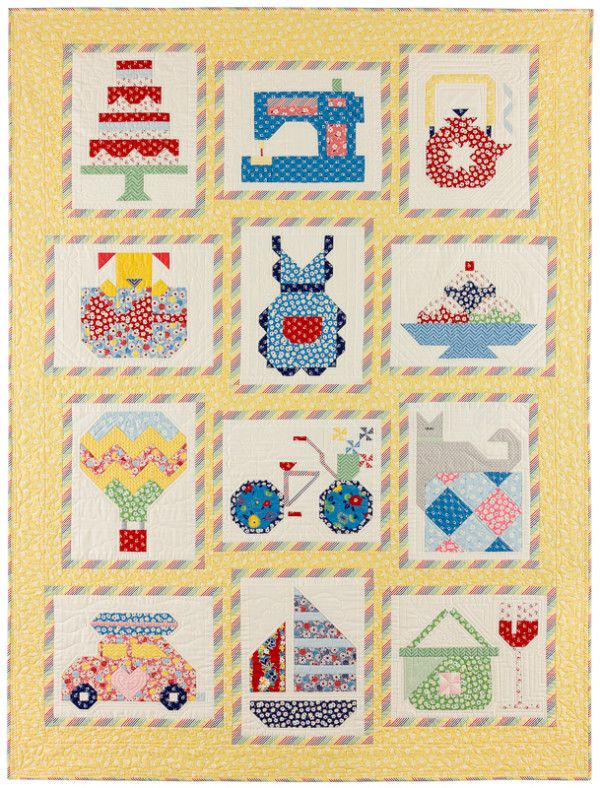 Quilt Patterns For 20 Fat Quarters : 20 Best images about snapshots QAL on Pinterest Fat quarters, Shops and Free pattern