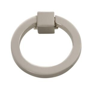 Hickory Hardware Camarilla 2-1/16 in. Satin-Nickel Furniture Ring Pull-P3190-SN at The Home Depot