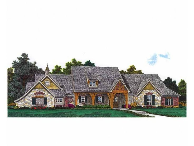 Craftsman house plan with 2542 square feet and 3 bedrooms for Home source com