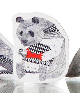 cute panda magnet :)