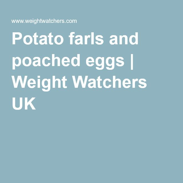 Potato farls and poached eggs | Weight Watchers UK