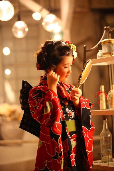 七五三*女の子の袴 の画像|スタジオ ノーブレム