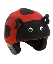 Tail Wags Helmet Covers come in over 30 animal characters that go over your child's helmet – for ages one to 11 – with high-quality, hard-wearing fleece which not only makes your child more visible and more likely to wear their helmet, it also helps keeps their head warm in cooler weather. You'll find everything from a curly tailed pink pig, to a stinky skunk, to a funky monkey.