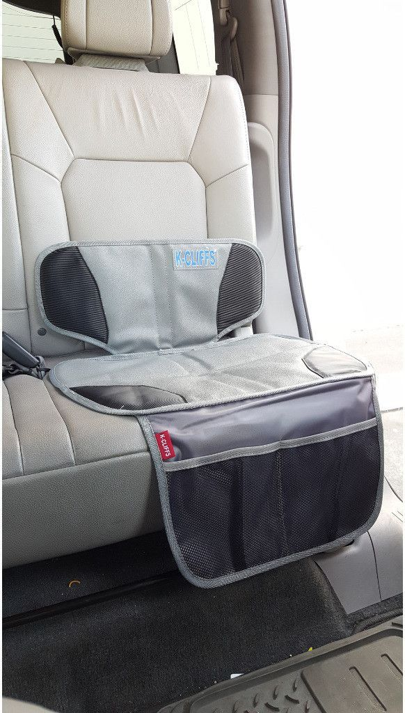 Baby Car Seat Protector.Protect your car upholstery- prevent unnecessary dents and scratches on leather or cloth seats with the baby car seat protector. The Non skid textured surface helps prevent haz