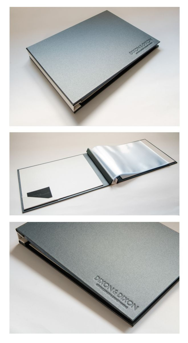 A4 bespoke Corporate Folder For Dixon & Dixon Joinery | Hartnack