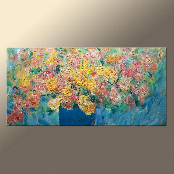 Ölgemälde abstrakt große Ölgemälde moderne Malerei Leinwand