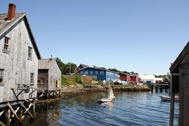 Many coastal communities look like this one in Nova Scotia. Come for a visit ..you'll be glad that you did!