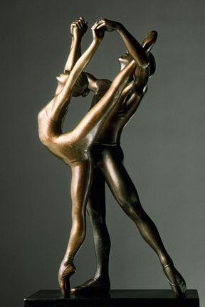 Bronze sculpture of Afternoon of a Faun, © Holly Crocker Garcia.