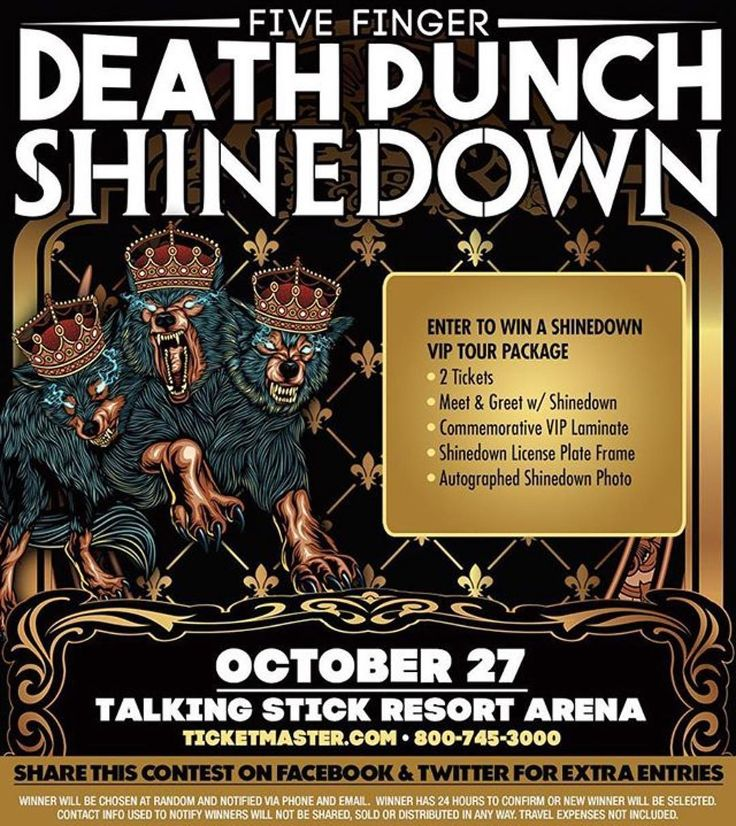 (Via @frankproductions) Phoenix AZ! A chance to win a meet and greet with @Shinedown 2 tickets and more! #Shinedown  Check it out here: http://woobox.com/oaimyt