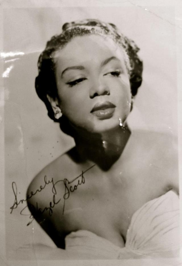 Jazz Pianist Hazel Scott was the first woman of color to have her own television show in the U.S.