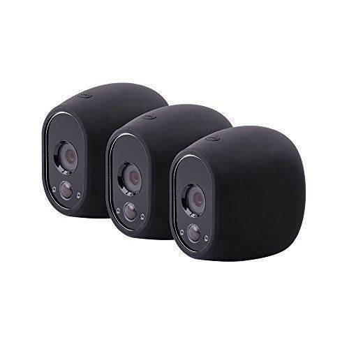 Silicone Skins for Arlo Smart Security 3pcs Set Protective Case Wire-Free Camera #ArloSmartSecurity