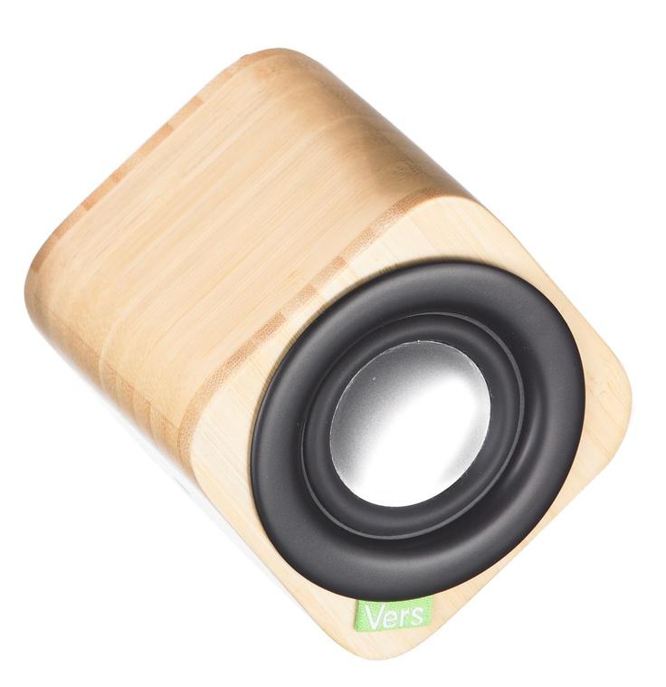 Bamboo speaker for iPhone / iPad / MacBook