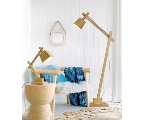 Add the unique Elsinki table or floor lamp to almost any room for a stylish  upgrade to your decor. Fresh & modern it still has all the functions of a normal desk lamp. Table lamp $189 Floor lamp $269 www.homeaboutstyle.com.au (Image from the block)