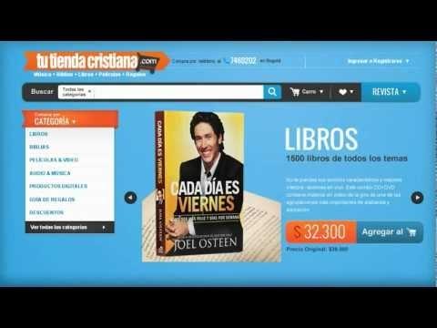 tutiendacristiana.com es un sitio web dedicado al comercio electrónico mediante la venta de productos y/o servicios que se entregan exclusivamente en el territorio de la República de Colombia.    http://www.tutiendacristiana.com/index.php
