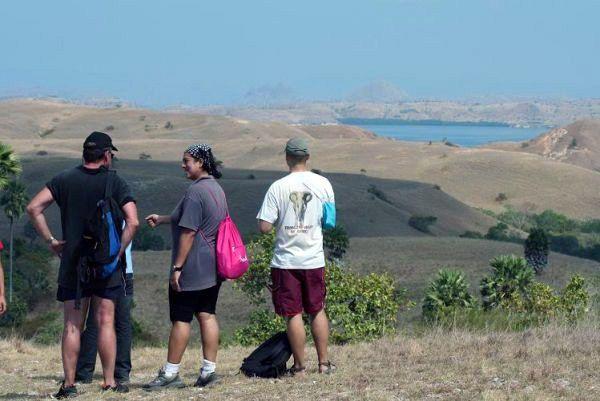 Gersang begitu di Afrika dong? Tempat ini ternyata salah satu tempat paling terkenal di Indonesia, yaitu Pulau Komodo.