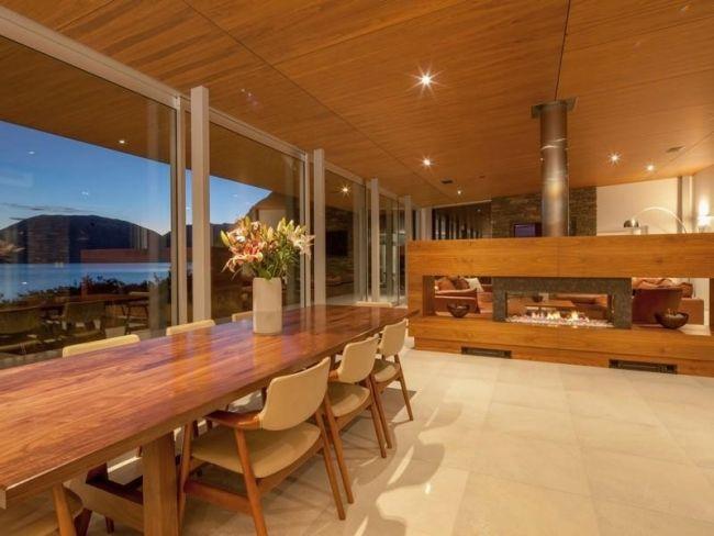 Die besten 25+ Kamin akzent wände Ideen auf Pinterest Holzwand - luxus wohnzimmer modern mit kamin