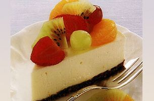Cool and Creamy Cheesecake. This is a real family favourite and very easy to make.